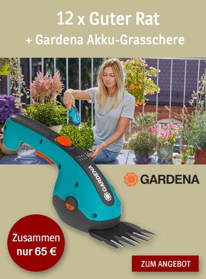 StickyAd Guter Rat - Gardena Akku-Grasschere