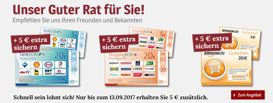 Guter Rat - Leser werben + 25 € Gutschein erhalten