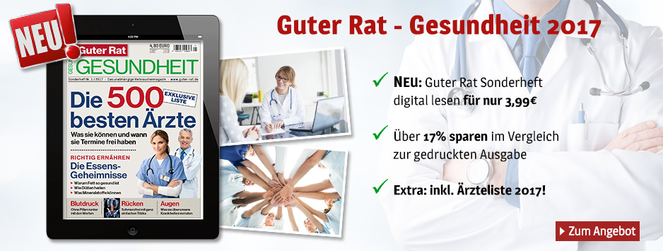 Guter Rat - Gesundheit