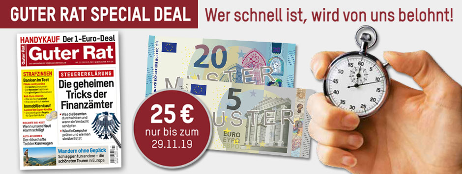 Guter Rat - Special Deal Prämienabo November 2019