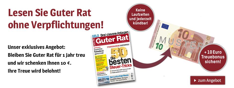 Guter Rat - Flexabo - Januar 2021