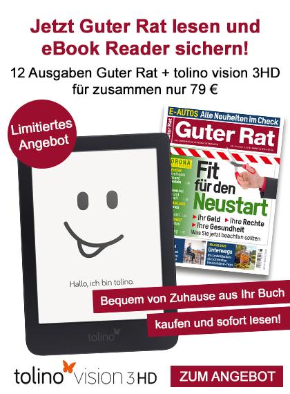 Guter Rat - tolino vision 3HD als Sparpaket