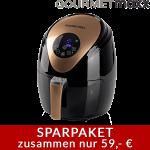 GOURMETMAXX Heißluftfritteuse 2,5 l