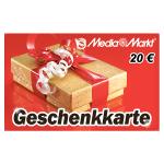 Media Markt Geschenkkarte 20 €