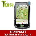 Teasi One³ Freizeit- und Fahrradnavigation mit Bluetooth