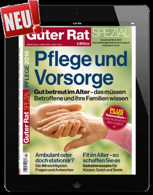 Pflege und Vorsorge 2019 Download